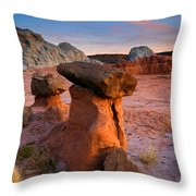 Brokentop Hoodoo Sunset Throw Pillow