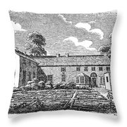 Bront�: Boarding School Throw Pillow by Granger