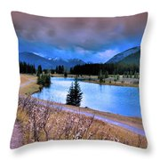 Brooding Skies Throw Pillow