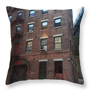 Brooklyn New York - 126 Front Street. Throw Pillow