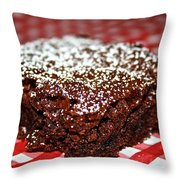 Brownie Focal Point Throw Pillow