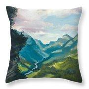 Bruecke To Heaven Throw Pillow