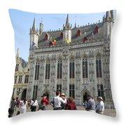 Brugge 2011 Throw Pillow