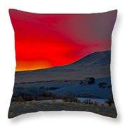 Bruneau Sunrise Throw Pillow