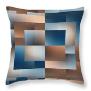 Brushed 11 Throw Pillow by Tim Allen