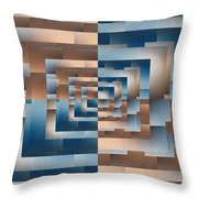 Brushed 13 Throw Pillow by Tim Allen