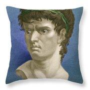Brutus, Roman Politician Throw Pillow