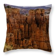 Bryce Canyon 01 Throw Pillow