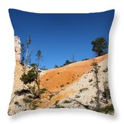 Bryce Canyon Character Throw Pillow