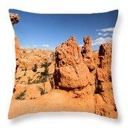 Bryce Canyon Hoodoos Throw Pillow