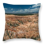 Bryce Canyon Panaramic Throw Pillow