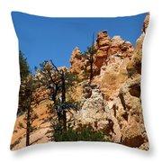 Bryce Canyon Santa Clause Throw Pillow