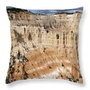 Bryce Canyon Vista Throw Pillow