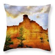 Bryce National Park Sunset Throw Pillow