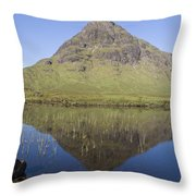 Buachaille Etive Beag Throw Pillow