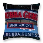 Bubba Gump Throw Pillow