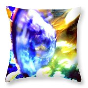 Bubble Abstract 001 Throw Pillow