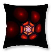 Bubble Art 1 Throw Pillow