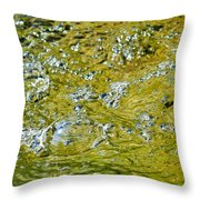 Bubble Beauty Throw Pillow