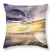 Bubble Fusion Throw Pillow