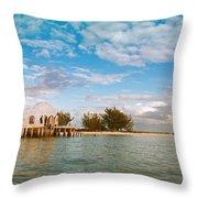Bubble House IIi Throw Pillow