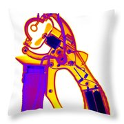 Bubble Machine Throw Pillow
