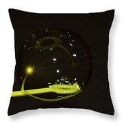 Bubble Throw Pillow
