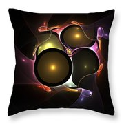 Bubble Wedding Throw Pillow