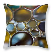 Bubbles II Throw Pillow