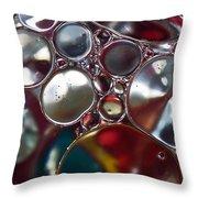 Bubbles IIi Throw Pillow