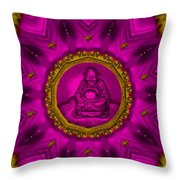 Buddha Also Love The Nature Throw Pillow