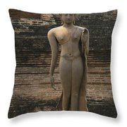 Buddha At Sukhothai 3 Throw Pillow