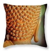 Buddha Detail 2 Throw Pillow