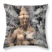 Buddha Nature Throw Pillow