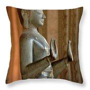 Buddha Vientienne Laos Throw Pillow