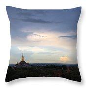 Buddha's Sky Throw Pillow