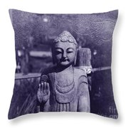 Buddhas Words Throw Pillow