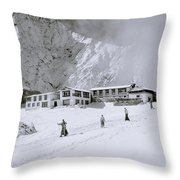 Buddhism In The Himalaya Throw Pillow