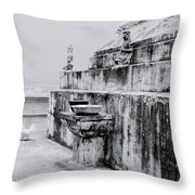 Buddhist Simplicity Throw Pillow