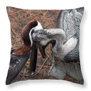 Buds For Life Throw Pillow