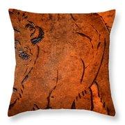 Buffalo Art Throw Pillow
