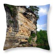 Buffalo Bluff 2 Throw Pillow