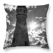 Buffalo Lighthouse 16717b Throw Pillow