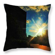 Buffalo Ny Awakening  Throw Pillow