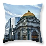 Buffalo Savings Bank 11415 Throw Pillow
