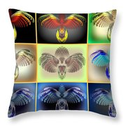 Bug-collection Throw Pillow