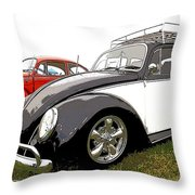 Bug Show Throw Pillow