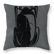 Bugatti 57 S Atlantic Top Throw Pillow by Naxart Studio
