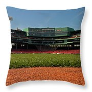 Bugs Eye View From Center Field Throw Pillow