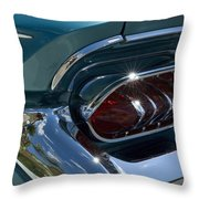Buick Electra Tail Light Assembly Throw Pillow